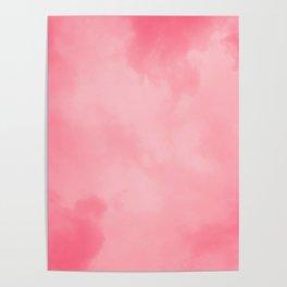 Pink Watercolor Poster