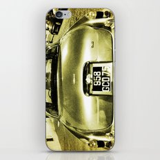Old Jaguar on the streets of Paris iPhone & iPod Skin