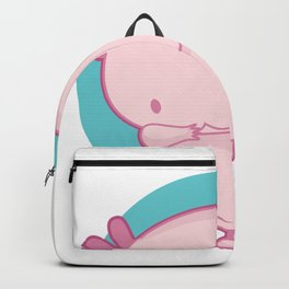 Axolotl Fish Tank Gift design Backpack