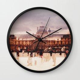 The Louvre // Paris Wall Clock