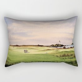 Turnberry Golf Course 12th Hole Rectangular Pillow