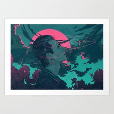 Fylgja Art Print