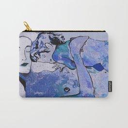 """Klimt deserves a """"Blue Period""""  Carry-All Pouch"""