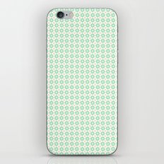 Small flowers green iPhone & iPod Skin