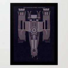 Weyland Industries: Nostromo Art Print