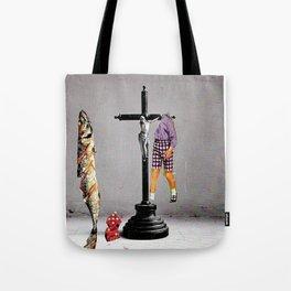 Say Hello To Heaven Tote Bag