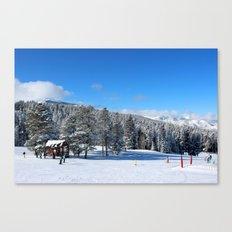 Buttermilk Skiers   Canvas Print