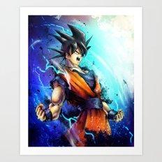 Goku Art Print