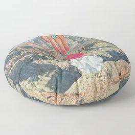 Desert Textures Floor Pillow