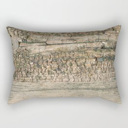 Rustic Wood Turquoise Weathered Paint Wood Grain Art Print Rustic Wood Turquoise Weathered Paint Woo Rectangular Pillow