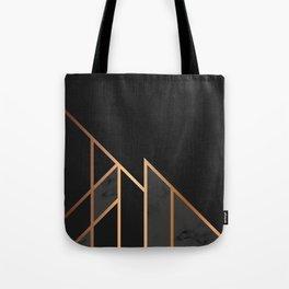 Black & Gold 035 Tote Bag