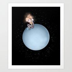 Lost in a Space / Uranusia Art Print