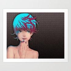 Star Nail Art Print