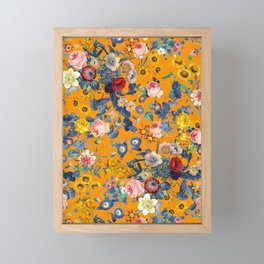 Summer Botanical Garden IX Framed Mini Art Print