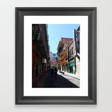 Stay by me Framed Art Print