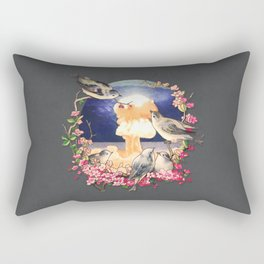 Second Sun  Rectangular Pillow