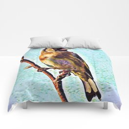 Goldfinch | Painting Comforters
