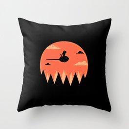 Saiyan Adventure Throw Pillow