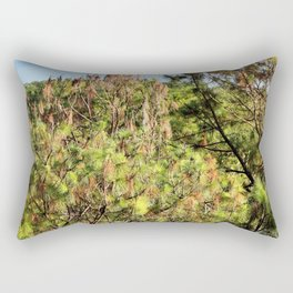 Beyond the Treetops Rectangular Pillow