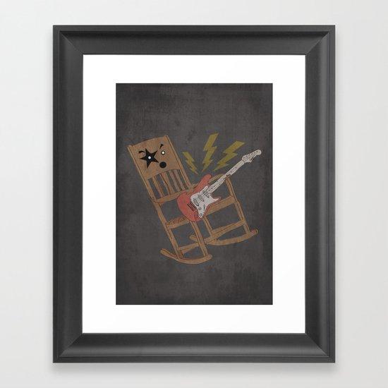 ROCKING CHAIR  Framed Art Print
