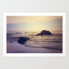 The Ocean Floor Art Print
