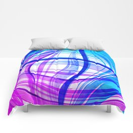 Abstract Vivids Comforters