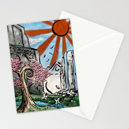 Japan: The Land of Games Stationery Cards