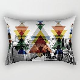 City totem Rectangular Pillow