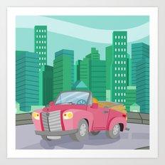 CAR (GROUND VEHICLES) Art Print