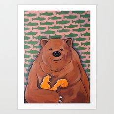 The Bachelor (BEAR) Art Print