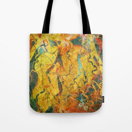 Cave Drawing Tote Bag