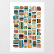 Color apothecary Art Print
