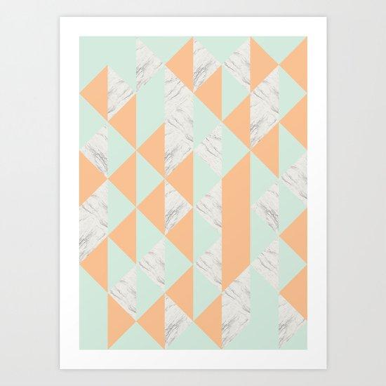 Fragments Art Print