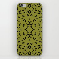 alphabet iPhone & iPod Skins featuring Alphabet by Chelsea Densmore
