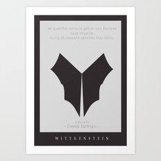 Wittgenstein Movie Poster Art Print