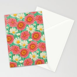 Kitschy Daisy Bouquet Stationery Cards