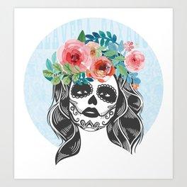 La Calavera Catrina Art Print