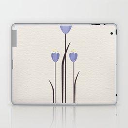 Minimal Bluebells Laptop & iPad Skin