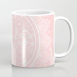 Mandala Moon Pink Coffee Mug