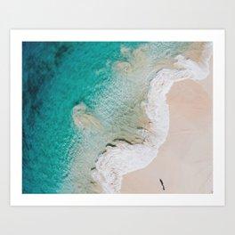 Swirling Tides Art Print