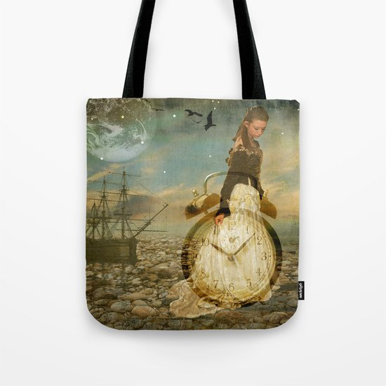 Time Keeper Tote Bag