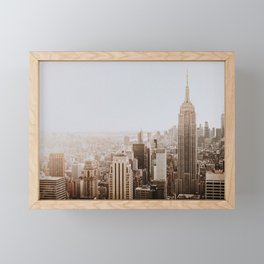 New York City Framed Mini Art Print