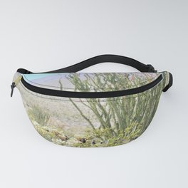 Spring in the Desert with Octotillo by Reay of Light Photography Fanny Pack