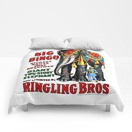 Big Bingo - Vintage 1916 Circus Poster Comforters