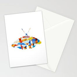 Wayne´s Flying - collab collage Stationery Cards