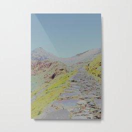Chromascape 15 (Snowdon, Wales) Metal Print