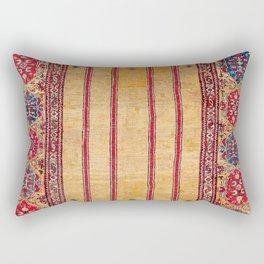Ladik Central Anatolian Column Rug Rectangular Pillow