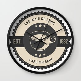 Café Musain Wall Clock