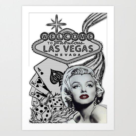 Welcome to Vegas Art Print