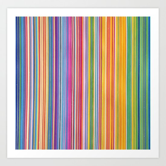 STRIPES10 Art Print